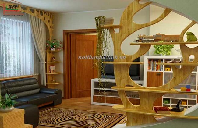 Vách trang trí phòng khách VNP03