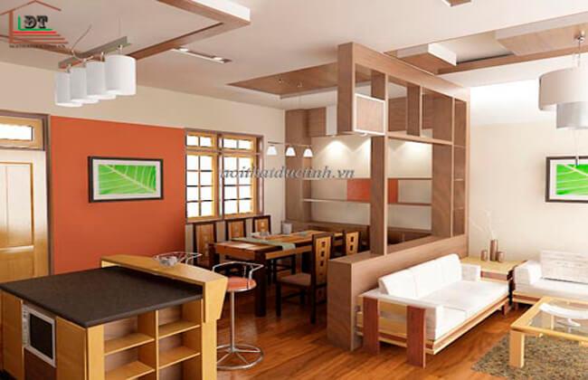 Vách ngăn phòng khách và phòng ăn VNP11