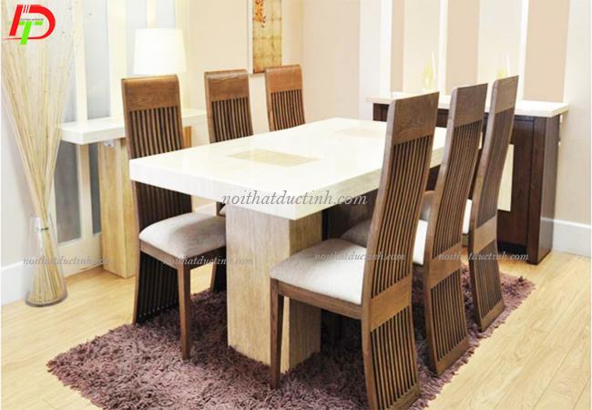 bàn ăn gỗ hiện đại, bền đẹp