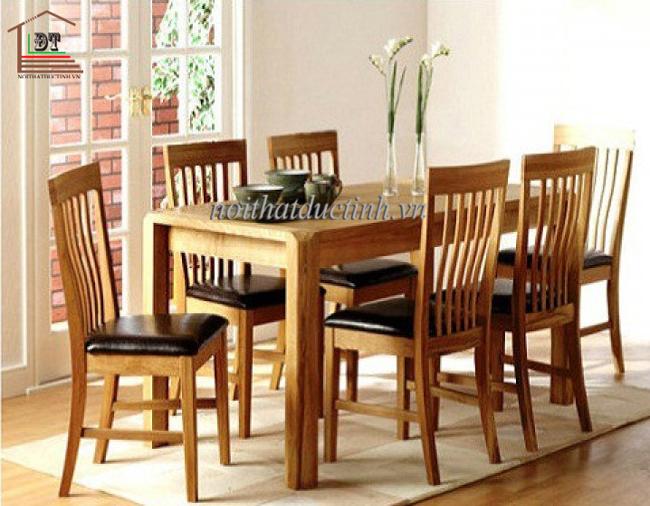 bộ bàn ăn 6 ghế tiện dụng