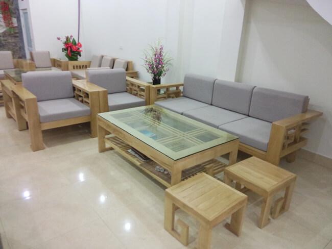 sofa gỗ phòng khách hiện đại bg01