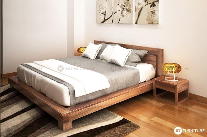 Giường ngủ kiểu nhật GN02