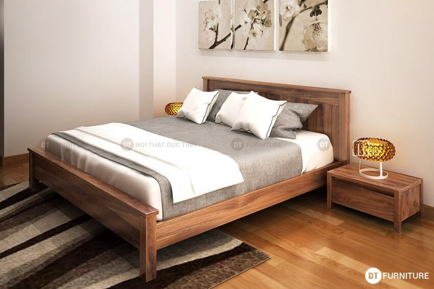 Giường ngủ gỗ công nghiệp GN15