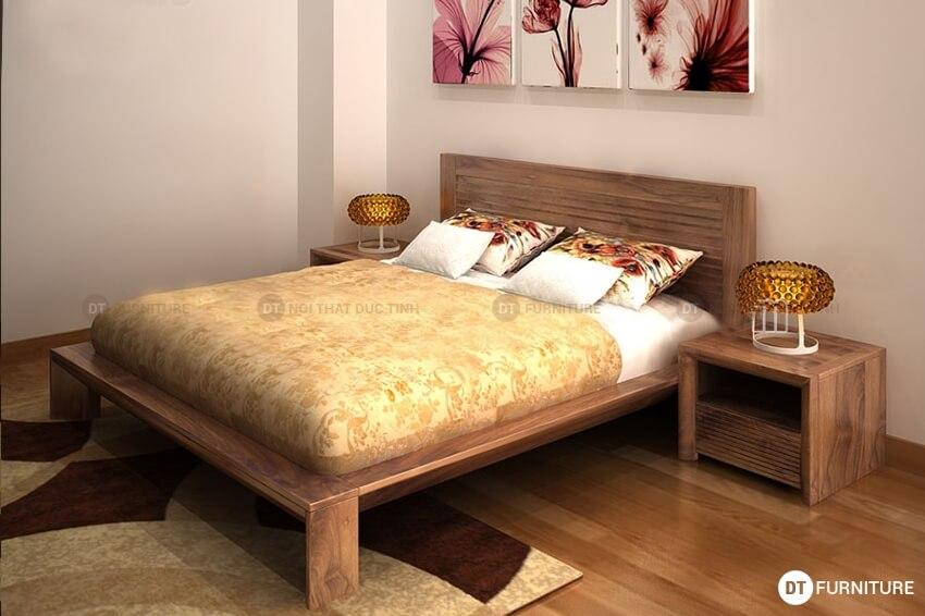 Giường ngủ kiểu nhật GN01