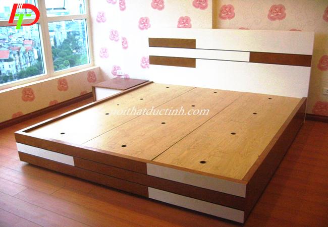 mẫu giường hộp đẹp đơn giản