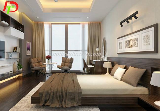 Giường ngủ kiểu nhật đẹp sang trọng