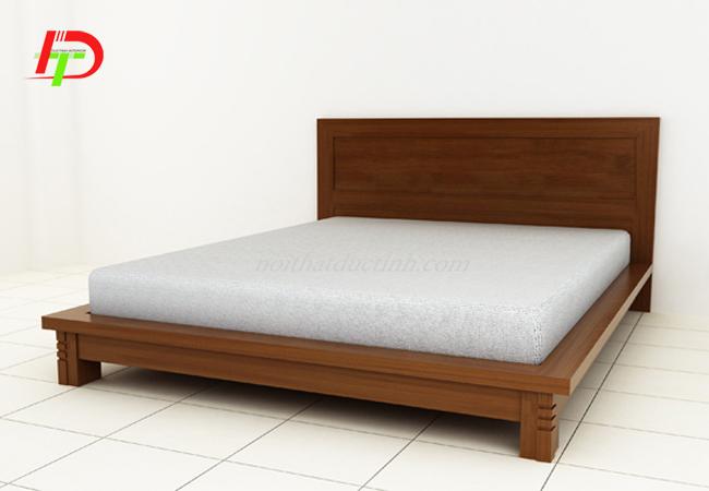 mẫu giường ngủ gỗ tự nhiên bền đẹp