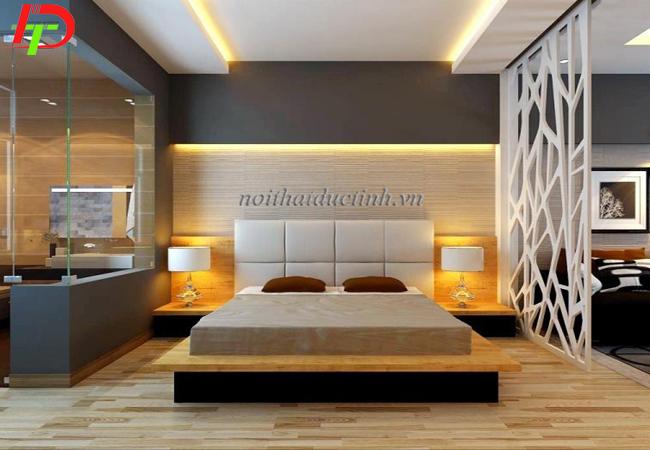 mẫu giường ngủ đẹp kiểu nhật cao cấp