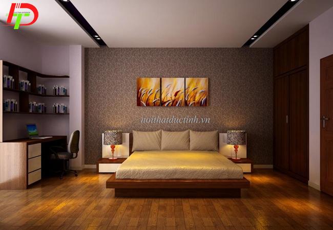 Mẫu giường ngủ kiểu nhật thiết kế đẹp hiện đại