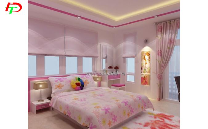 mẫu giường ngủ gỗ cho trẻ em