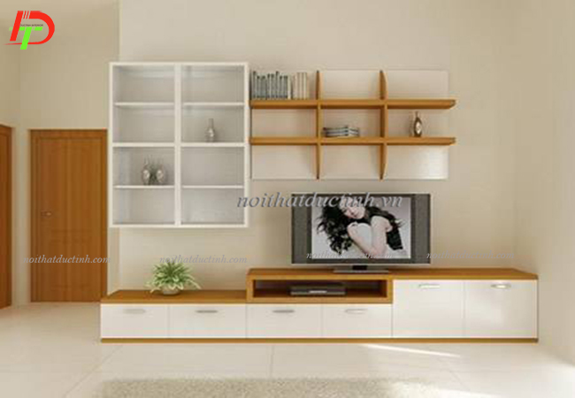 mẫu kệ tivi gỗ giá rẻ hiện đại