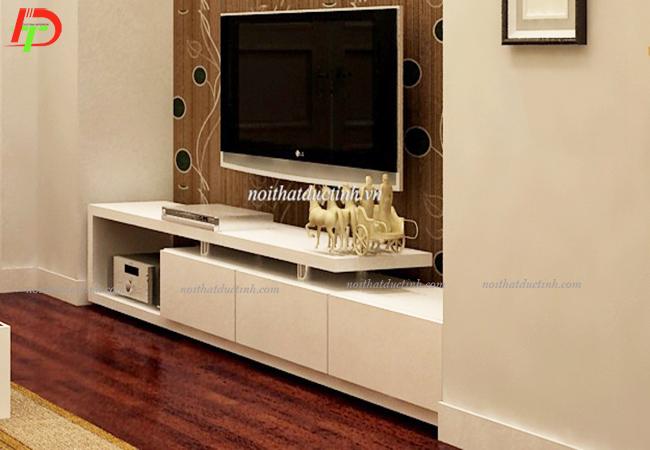 kệ tivi gỗ công nghiệp thiết kế nhỏ gọn