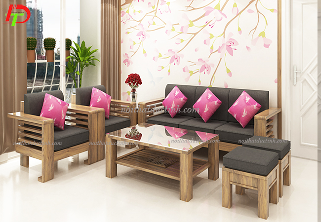 bàn ghế đẹp cho phòng khách sang trọng