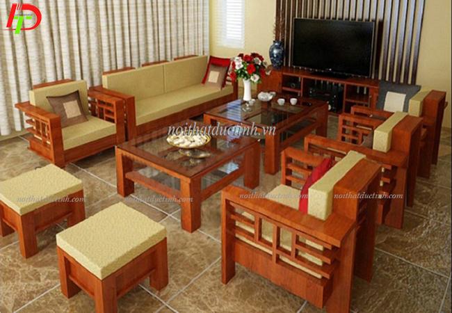 mẫu bàn ghế gỗ phòng khách đẹp bg04