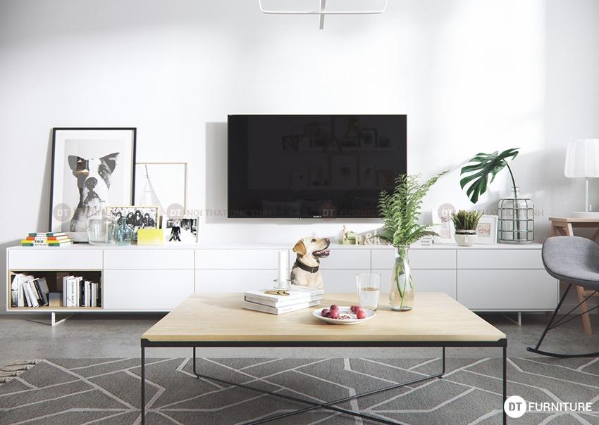 20 mẫu kệ tivi gỗ bán chạy nhất năm 2016 - BST-KTV01