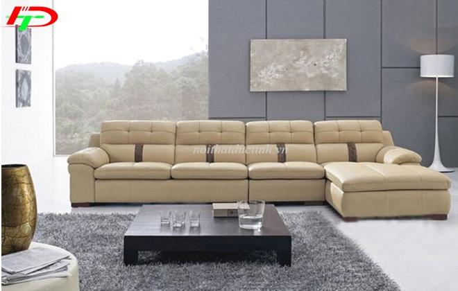 sofa da cao cấp gam màu trang nhã