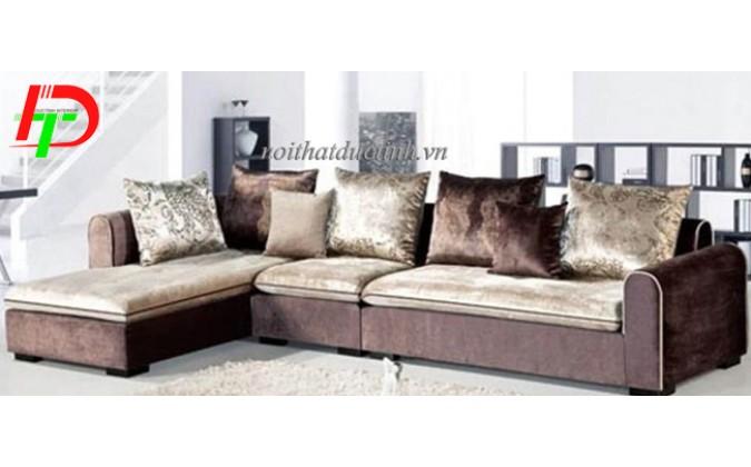 Sofa nhung nỉ cho phòng khách ấm áp