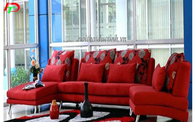 sofa nỉ phòng khách đẹp