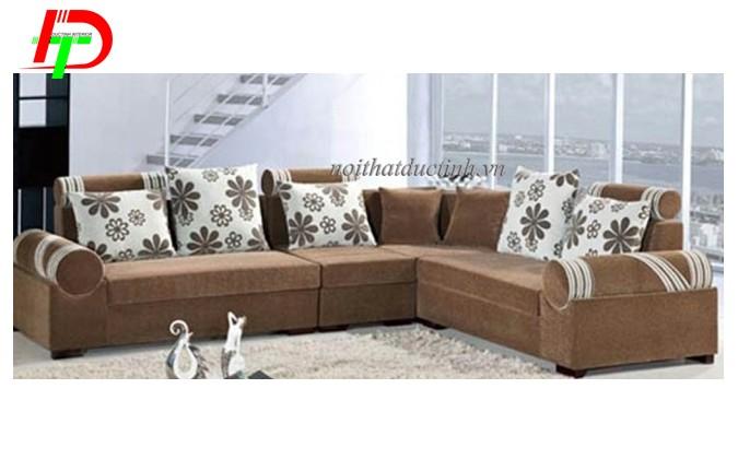 Sofa cao cấp chất liệu nỉ đẹp