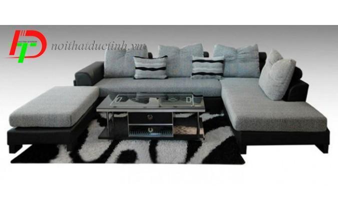 Mẫu sofa nỉ dành cho gia đình