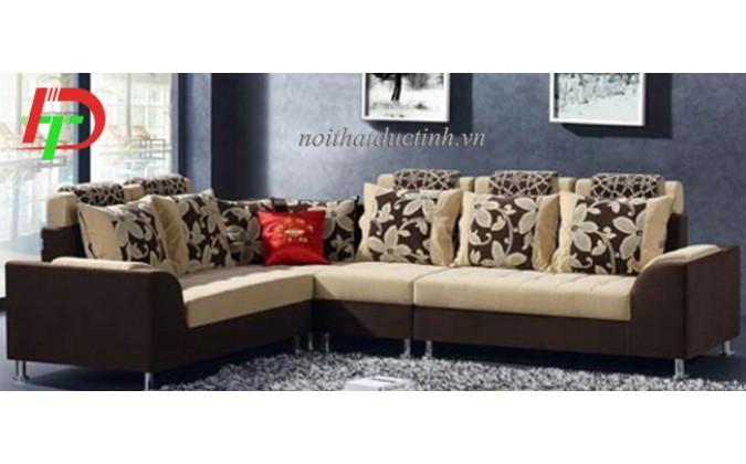 Mẫu ghế sofa nỉ đẹp sang trọng