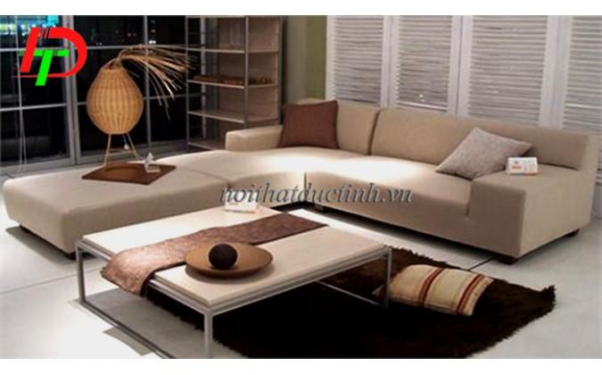 Mẫu sofa phòng khách cao cấp kiểu dáng sang trọng, hiện đại
