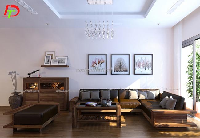 Sofa gỗ hiện đại sang trọng BG09