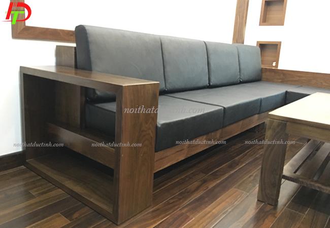 ghế sofa gỗ phòng khách cao cấp BG06