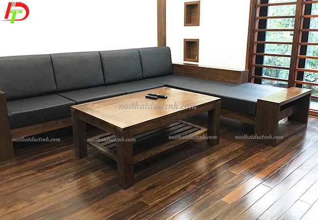 ghế sofa gỗ phòng khách BG06