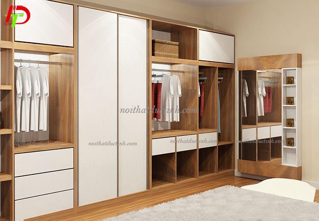 tủ quần áo gỗ công nghiệp hiện đại sang trọng
