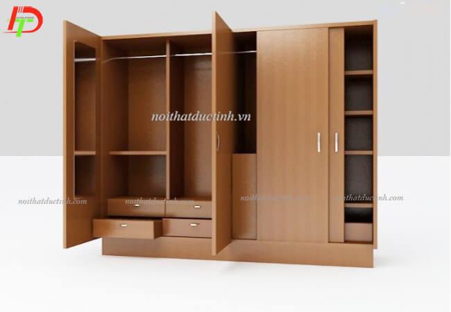 Tủ quần áo gỗ hiện đại TA35