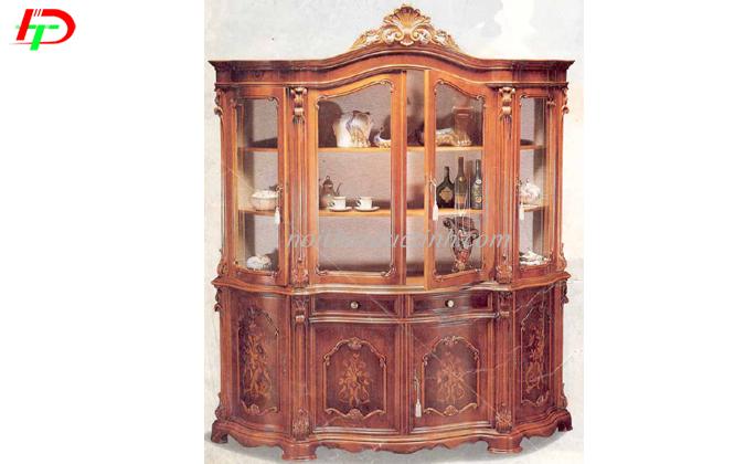 Tủ rượu gỗ thiết kế cổ điển sang trọng