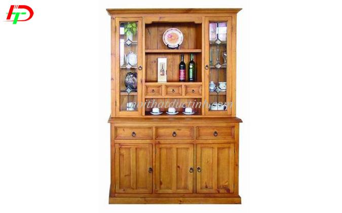 tủ rượu gỗ tự nhiên bền đẹp