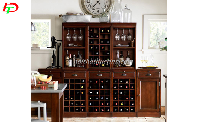 mẫu tủ rượu đẹp hiện đại, sang trọng